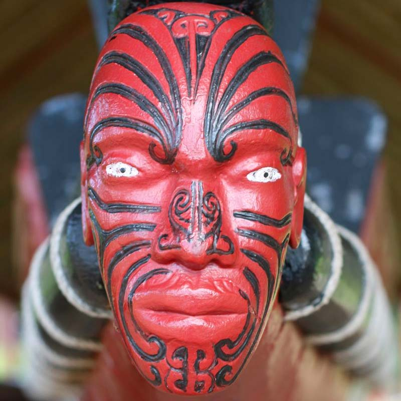 Maori face carving, Ngawaka Group is a New Zealand company focussed on Maori-led businesses