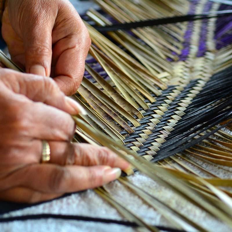 Traditional Maori handcraft weaving, Ngawaka Group is a New Zealand company focussed on Maori-led businesses