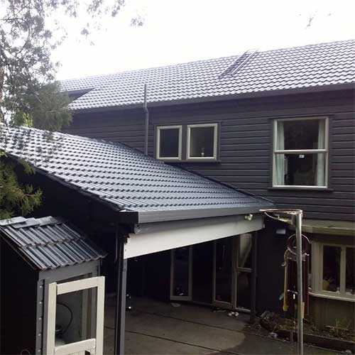 Rehua Roofing example - specialises in concrete tile installation, roof restoration and maintenance